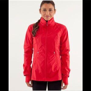 Lululemon Make A Break Jacket in Currant Size 4